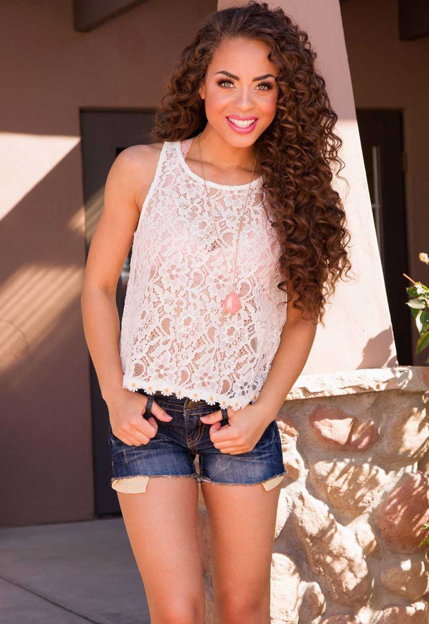 Tops - Bethany Lace Top