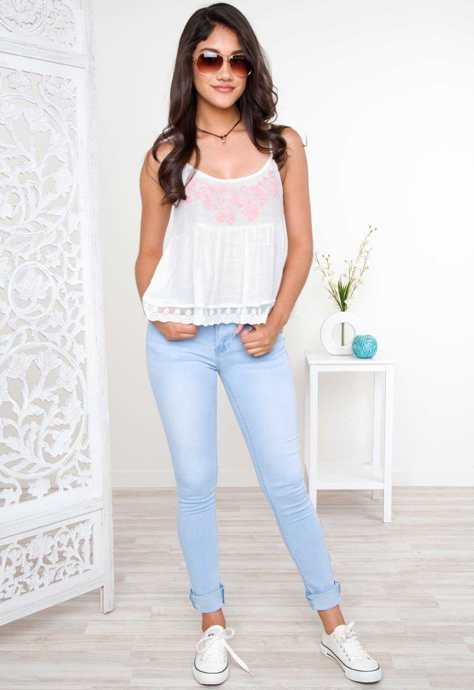 Tops - Bliss Embroidered Top