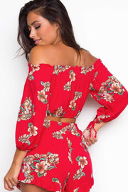 Tops - Catalina Floral Crop Top