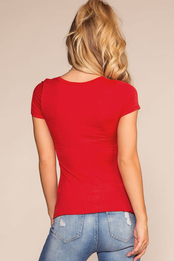 Tops - Coolway Top - Red