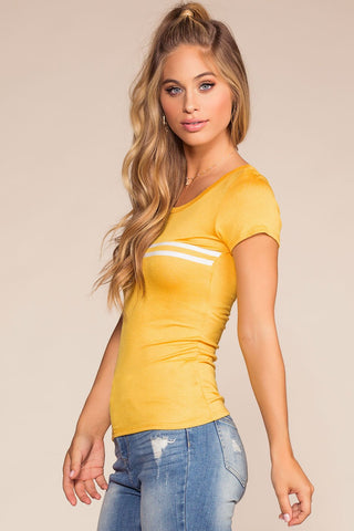 Tops - Coolway Top - Yellow
