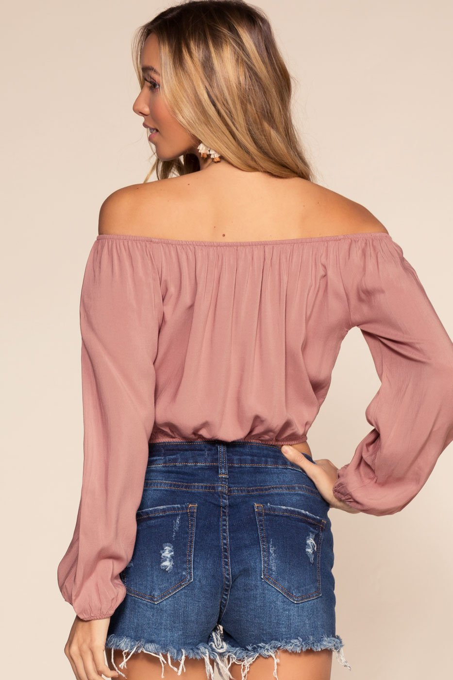 Tops - Divine Off The Shoulder Top
