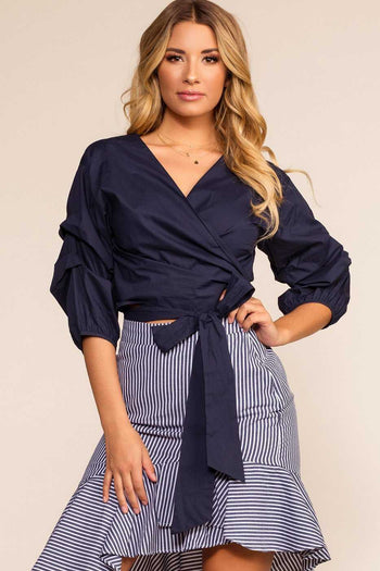 Tops - Esmeralda Wrap Top