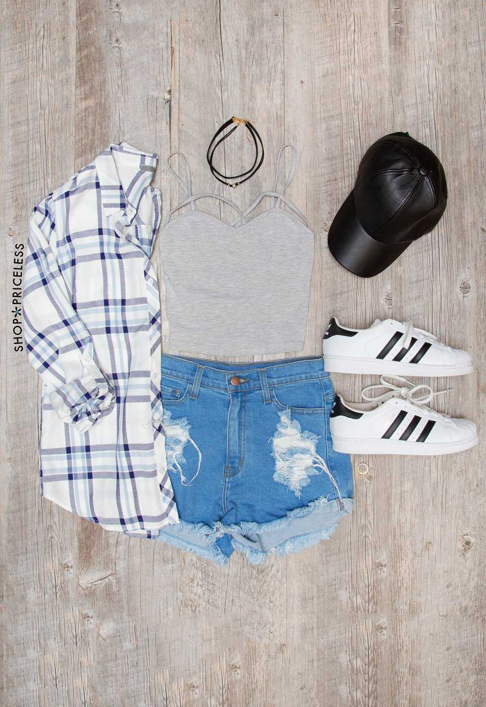 Tops - Genie Crop Top - Gray