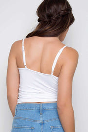 Tops - Genie Crop Top - White