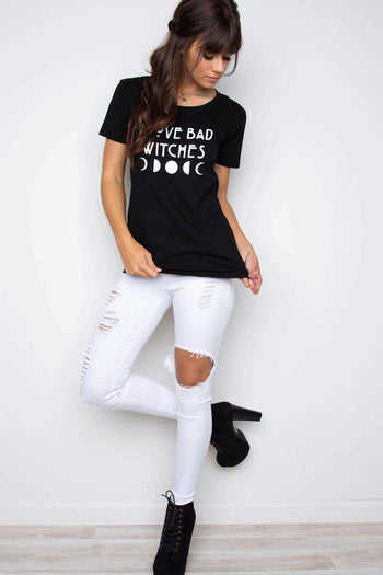 Tops - I Love Bad Witches Top