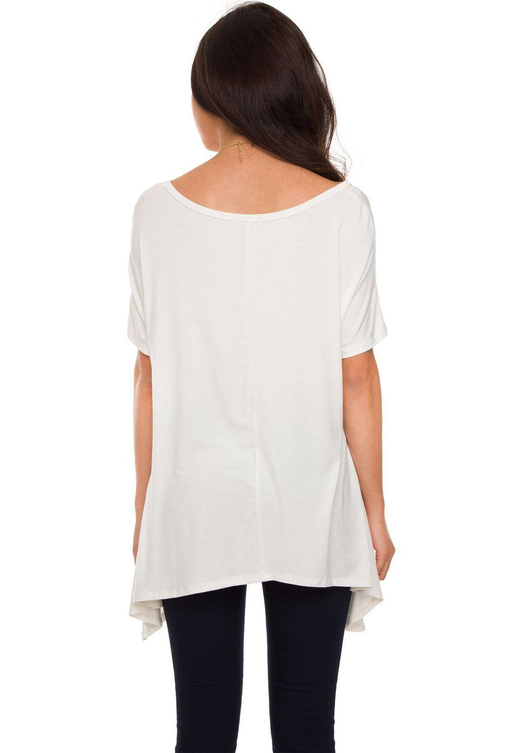 Tops - Izzy Top - White