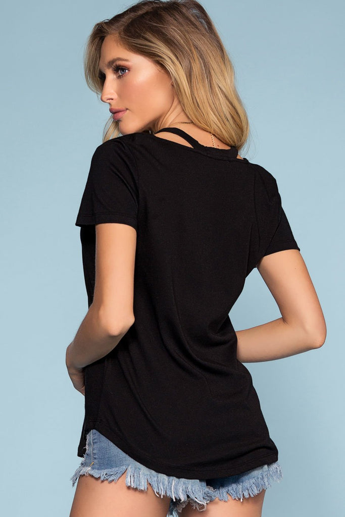Tops - Kessa Top - Black