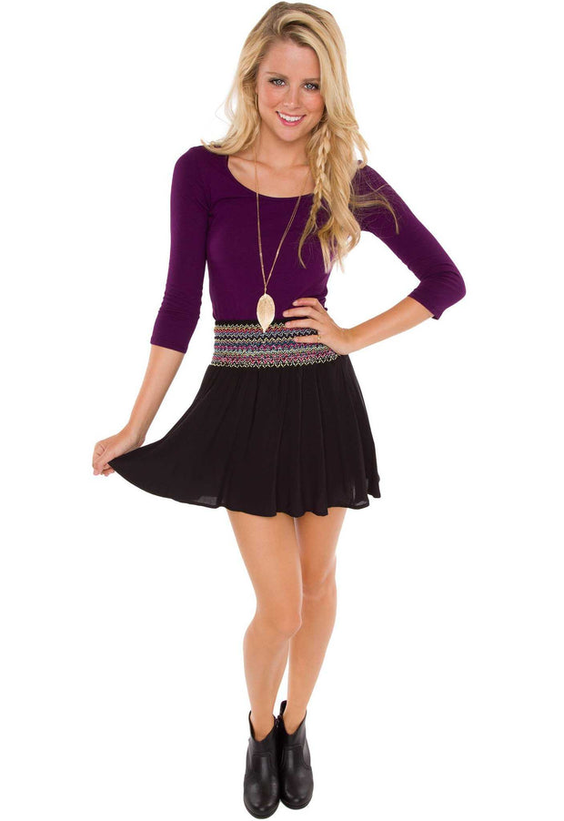 Tops - Lani Crop Top - Purple