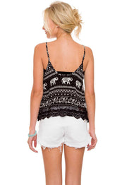 Tops - Layna Elephant Top