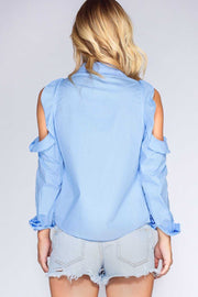 Tops - Long Story Short Top - Blue
