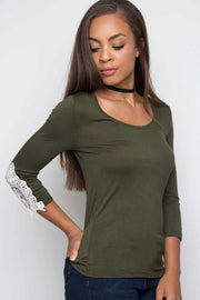 Tops - Lorette Top - Olive