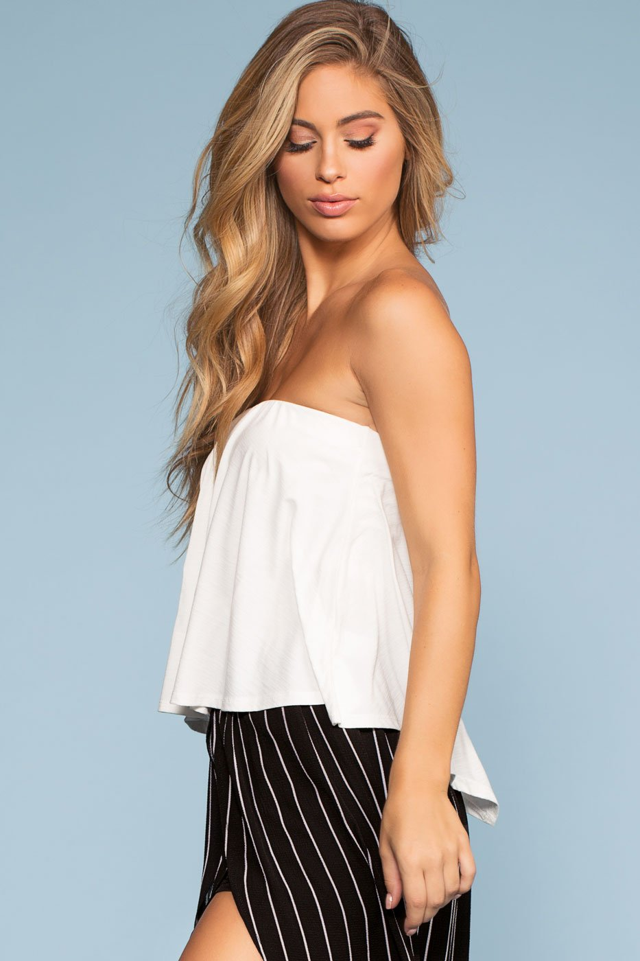 Tops - Lost At Sea Top - White