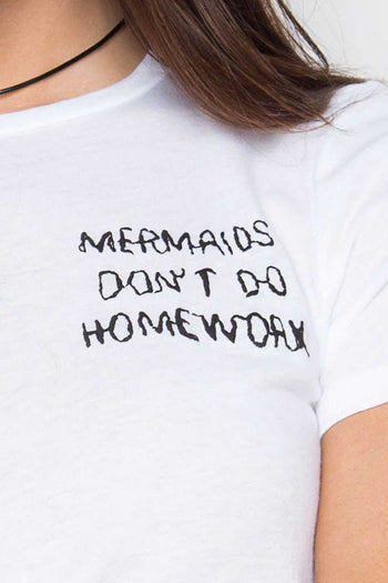 Tops - Mermaids Don't Do Homework Top