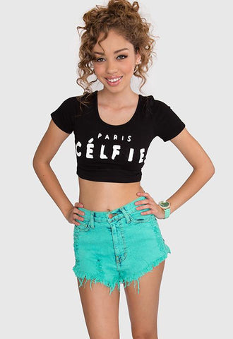 Wild Hearts Top - Black