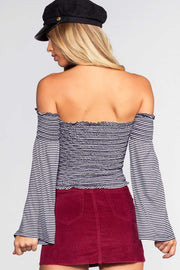 Tops - Pierce Off The Shoulder Top