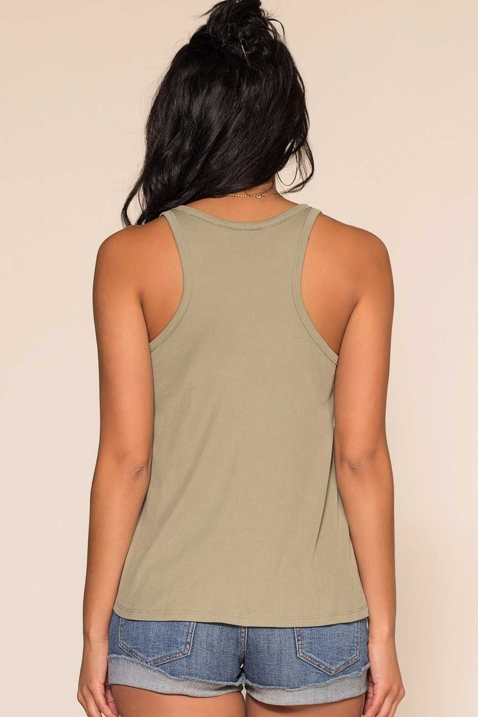 Tops - Power Vibes Tank Top