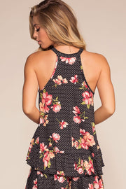 Tops - Ready, Set, Bloom Floral Swing Top