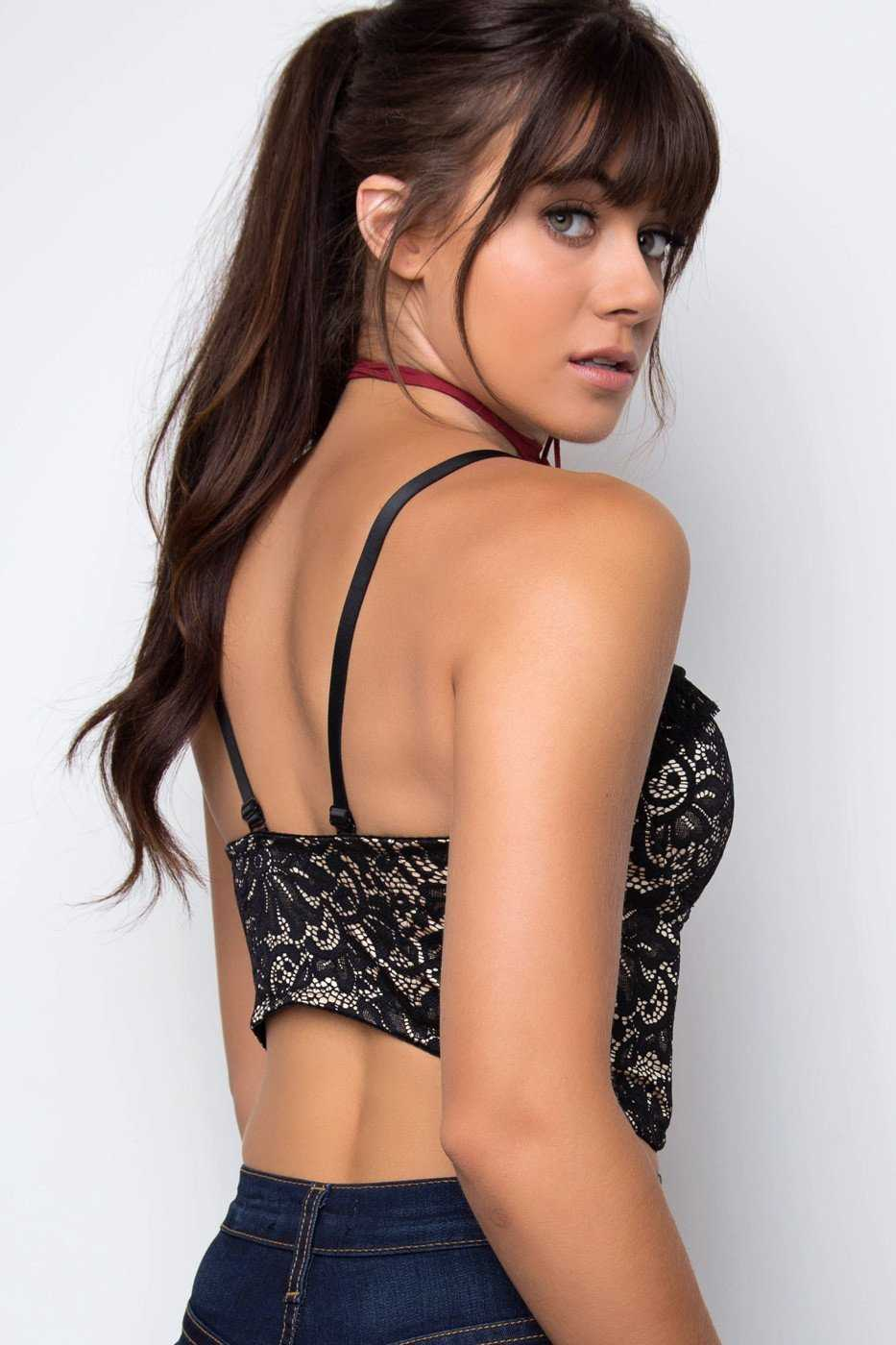 Tops - Rosemary Lace Bustier