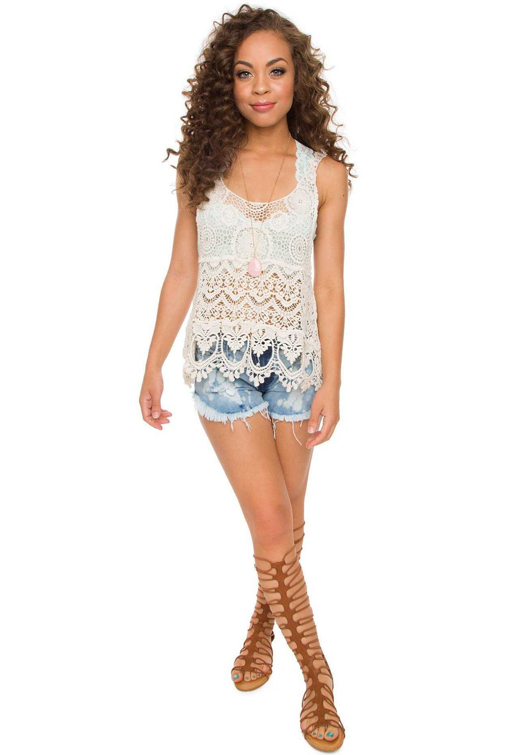 Tops - Saffron Crochet Top