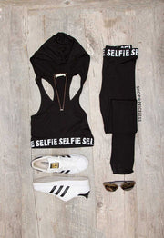 Tops - Selfie Lifestyle Crop Top