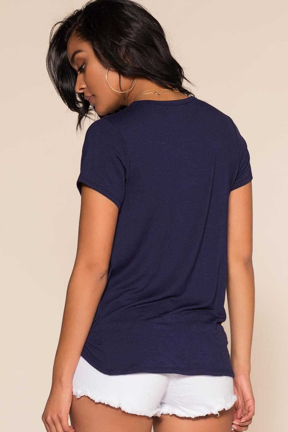 Tops - Serena Top - Navy