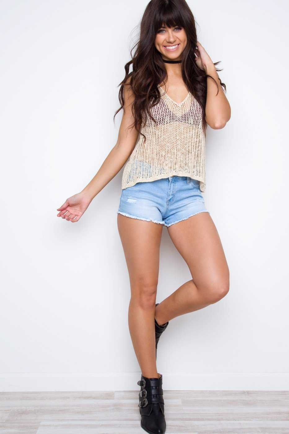 Tops - Shae Tank Top - Taupe