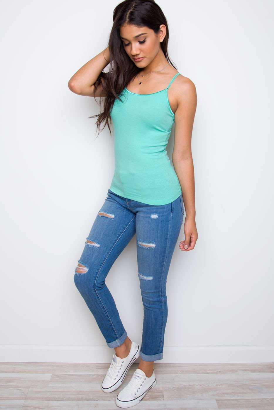 Tops - Shirley Top - Mint