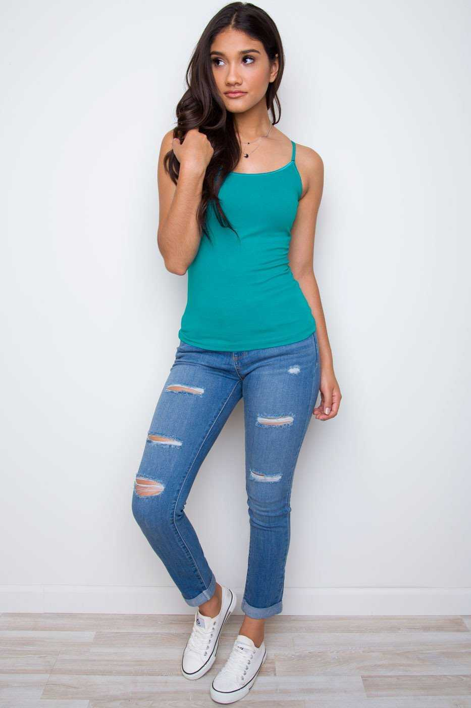 Tops - Shirley Top - Teal