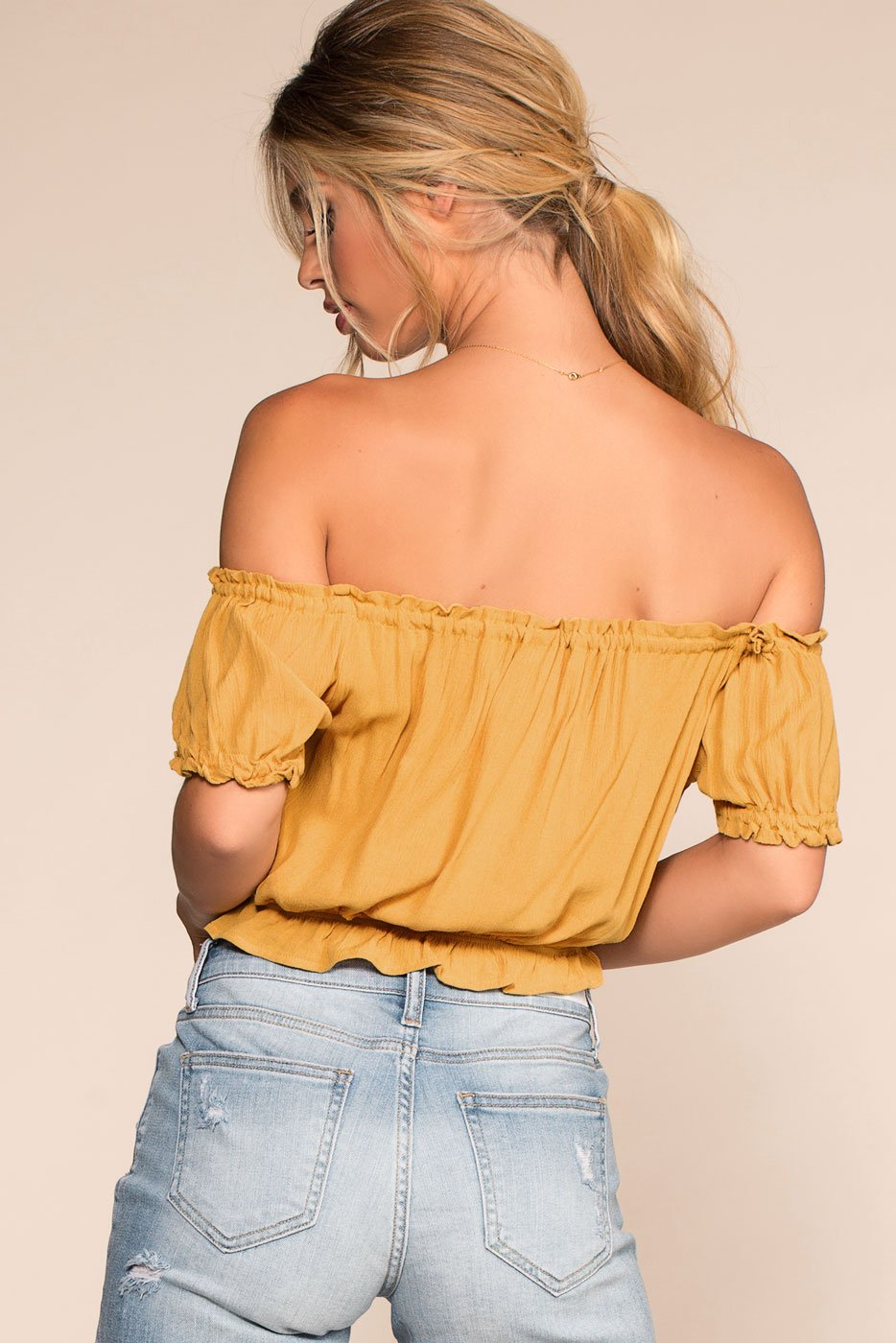 Tops - Summer Afternoon Top - Honey