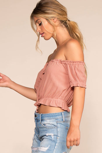 Tops - Summer Afternoon Top - Rose