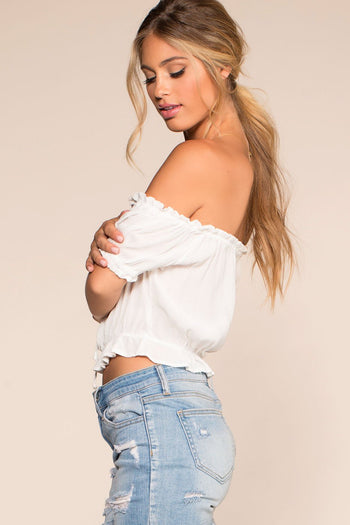 Tops - Summer Afternoon Top - White