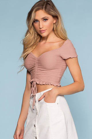 Summer Afternoon Top - Rose