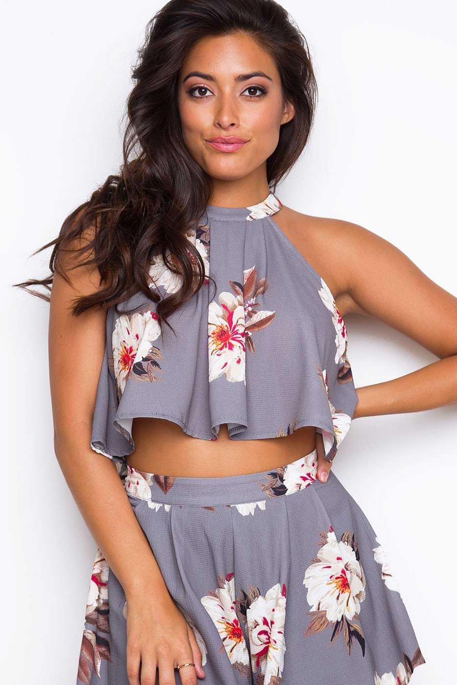 Tops - Sunny Sunday Crop Top