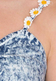 Tops - The Daisy Life Denim Crop Top