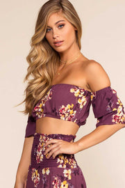 Tops - The Frill Of It Crop Top