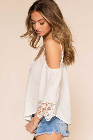 Tops - The Sweet Life Top - White