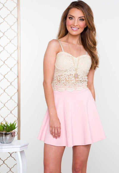 Tops - Thora Lace Bustier - Ivory