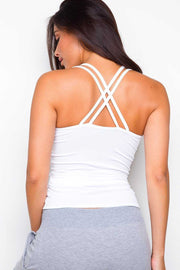 Tops - Tina Tank Top - White