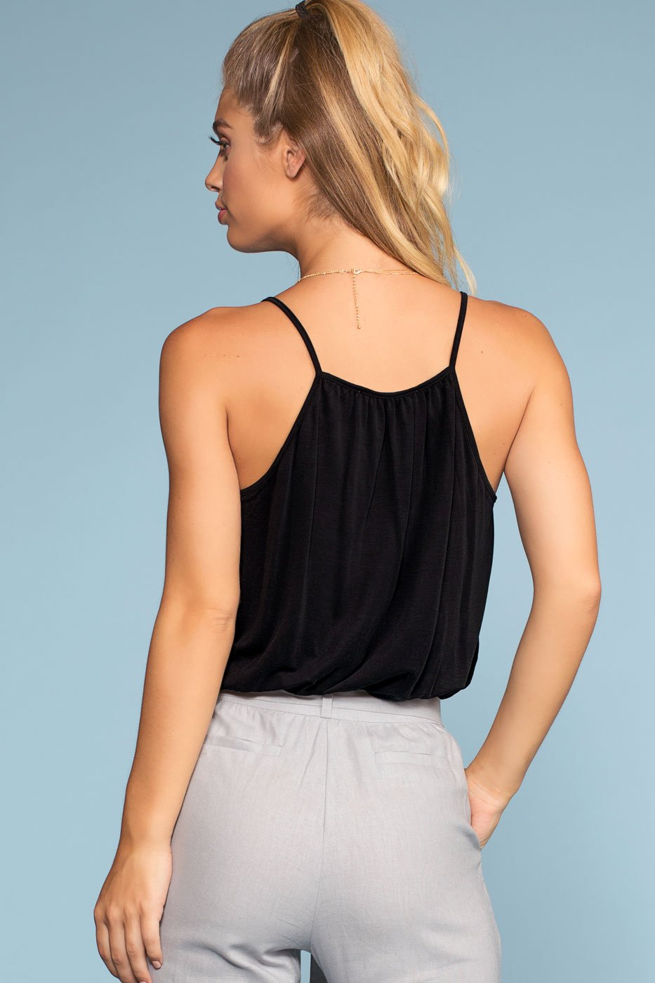 Tops - Vacay All Day Top - Black