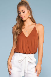 Tops - Vacay All Day Top - Brownie