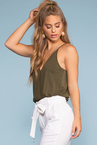 Tops - Vacay All Day Top - Olive