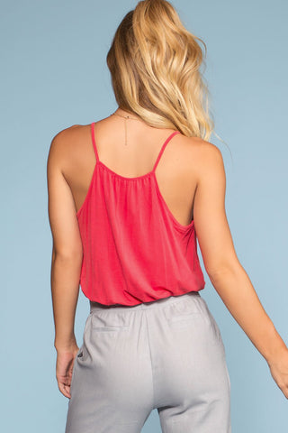 Tops - Vacay All Day Top - Scarlet