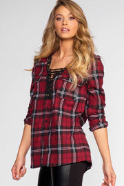 Tops - Winslow Plaid Top
