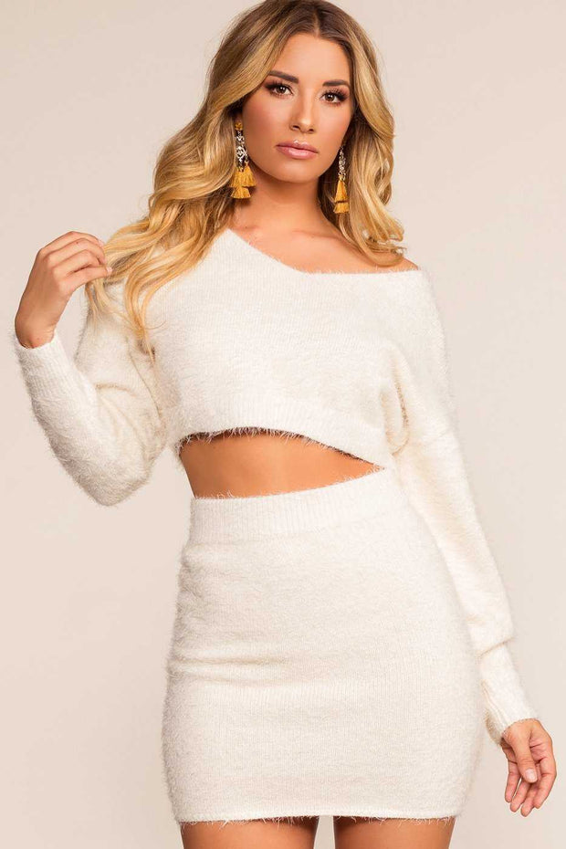 Tops - Winter Wonderland Crop Top