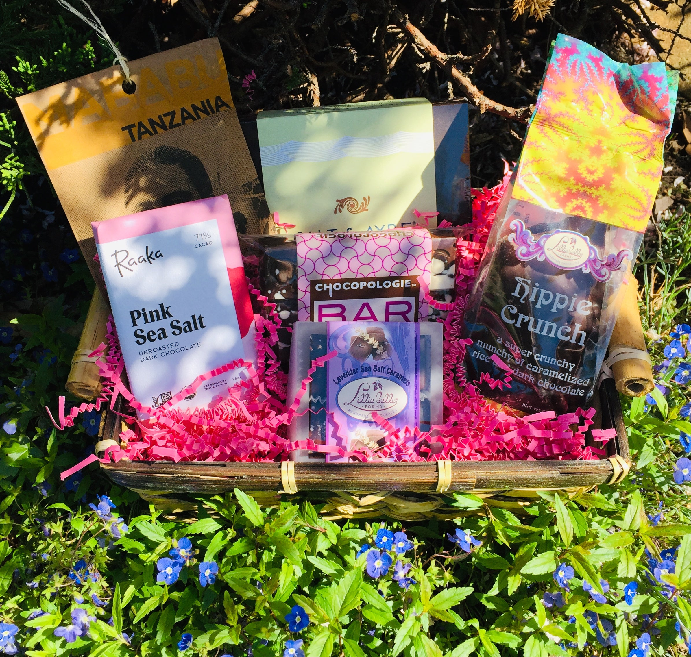 The Spring Gift Basket From The Chocolate Path®