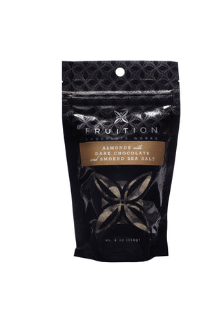 Fruition Chocolate Works Almonds with Dark Chocolate and Smoked Sea Salt