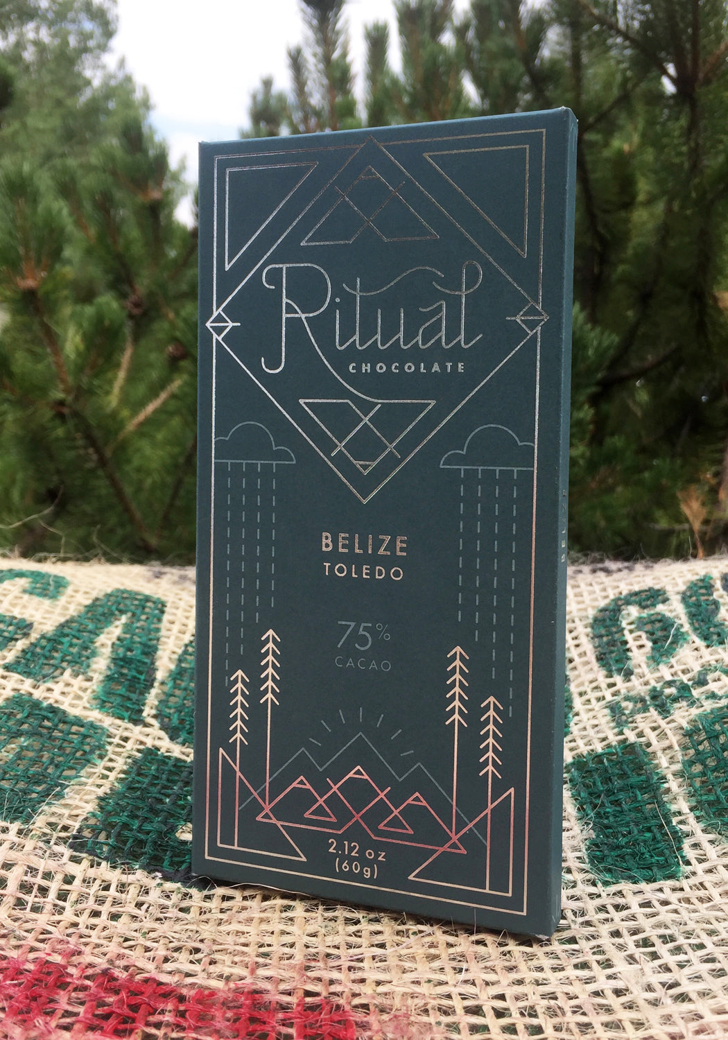 Ritual Chocolate Belize Toledo 75% Bar