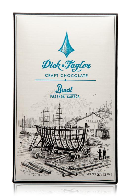 Dick Taylor Brazil Fazenda Camboa 75% Dark Chocolate Bar