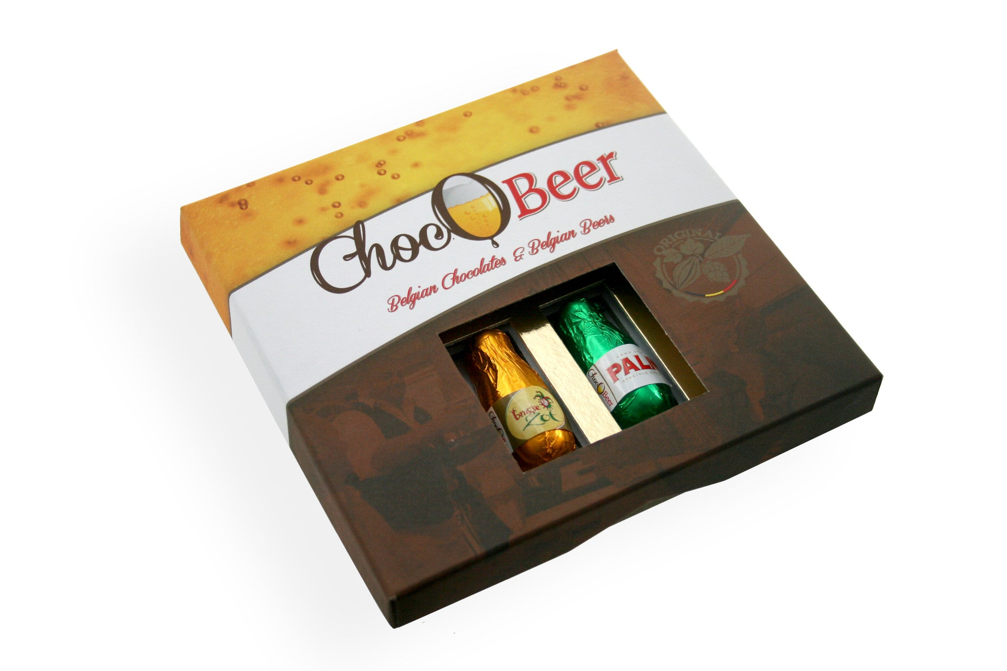 ChocOBeer Beer Filled Pralines - 8 Piece Assortment